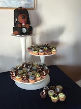 Photo: Heerlijk cupcakes ter ere van het 5-jarig jubileum gemaakt voor Monique Verhoef van Occasional Cakes