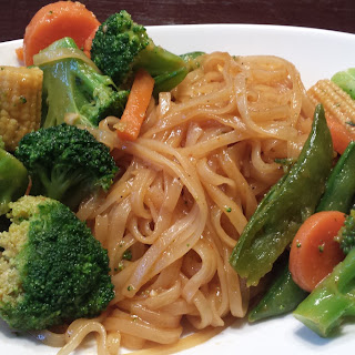 Pad Thai Inspired Noodle Dish