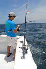 Photo: hayden feeling up for some fishing
