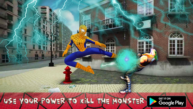 Venom Super Hero : amazing fight vs spider Hero apk screenshot