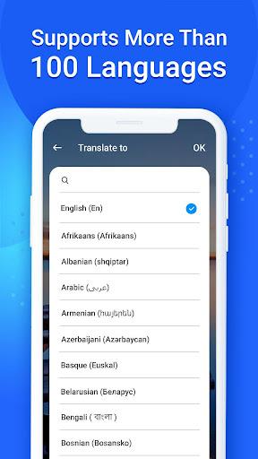 Language Translator, Free Translation Voice & Text screenshot 7