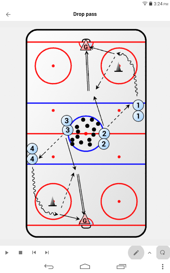 Hockey Playview- screenshot