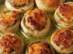 Easy Crab Stuffed Mushrooms (microwave) Recipe