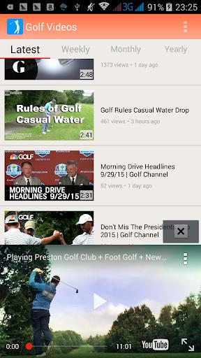 ゴルフレッスン動画 Golf Videos