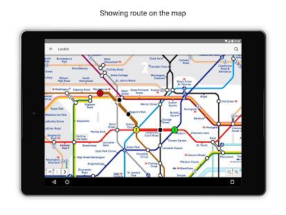 Tube Map London Underground 12