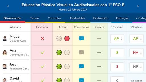 Versión de Séneca para smartphone y tabletas. screenshot 4