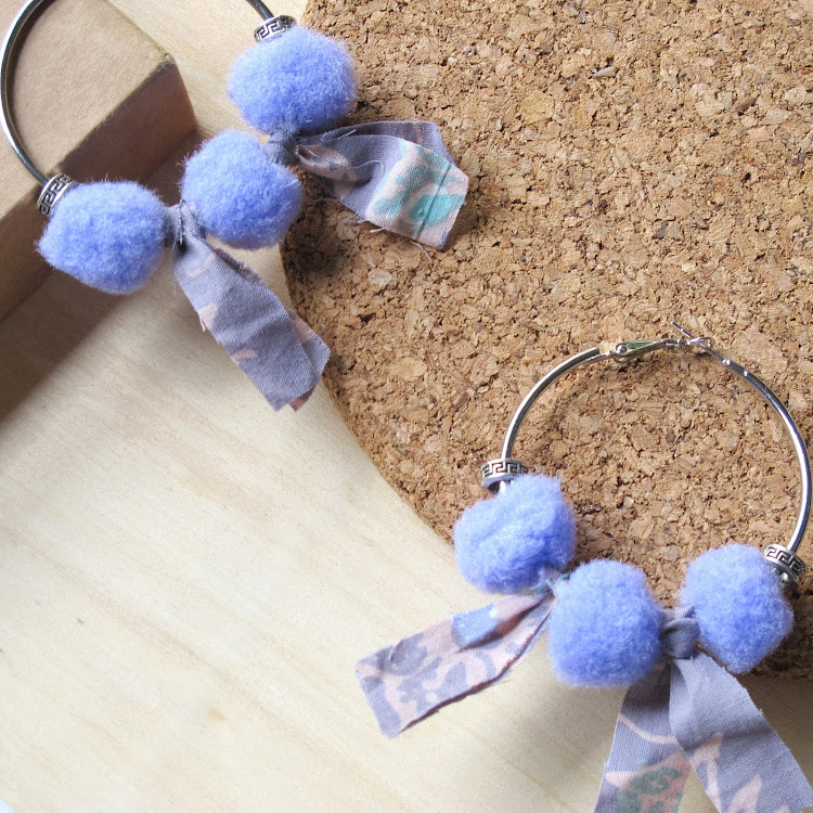 Boho Hoop Earrings #Dreamscape by Wild Whimsies