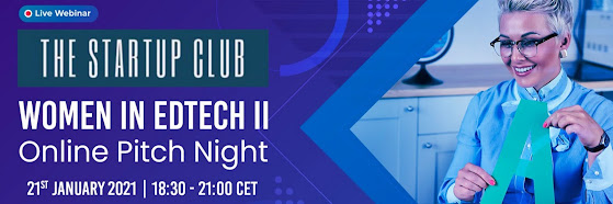 Future of EdTech II - Online Pitch Night