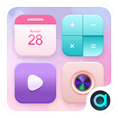 Pink Coco Theme-ABC launcher