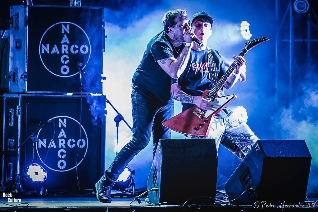 Narco Rivas Rock 2018