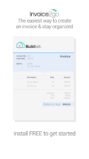 Invoice2go-Invoice on the Job- screenshot thumbnail