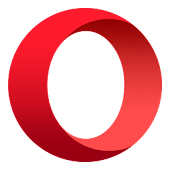 Opera with free VPN Icon