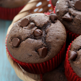 Double Chocolate Muffins.
