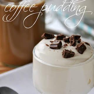 Vanilla Iced Coffee Pudding.