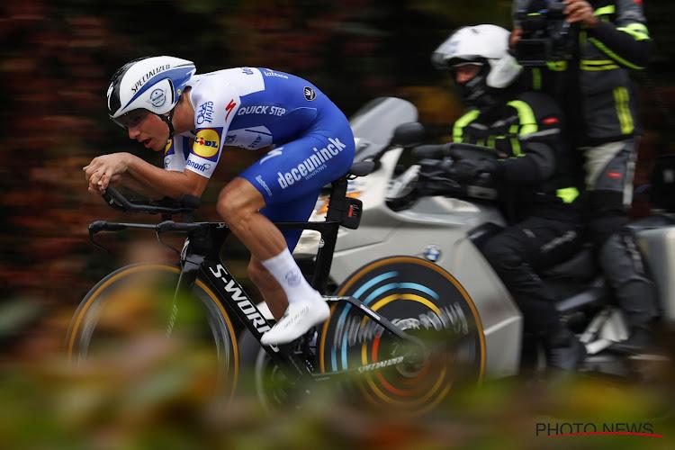 """Almeida eindigt zijn al fantastische Giro nog met plaatswinst: """"Niet mogelijk zonder hulp ploegmaats Deceuninck-Quick.Step"""""""