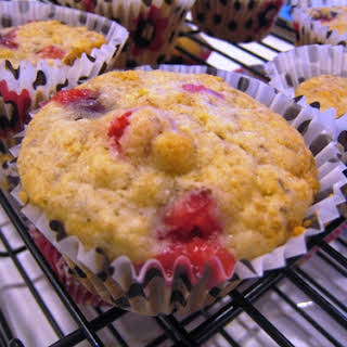 Cranberry-Orange Muffins.