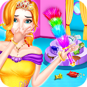 Princess House Cleaning - Home CleanUp for Girls icon