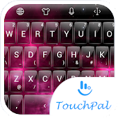 T Glass Nebula TouchPal Theme