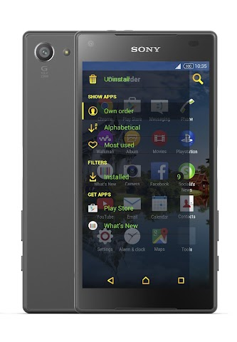 android VStyle Xperia Theme Screenshot 1