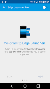 Edge Launcher Pro Screenshot