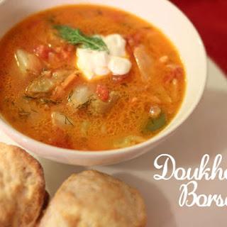 Ingredients for Doukhobor Borscht