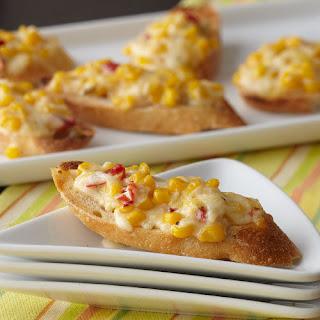 Easy Cheesy Corn Toast