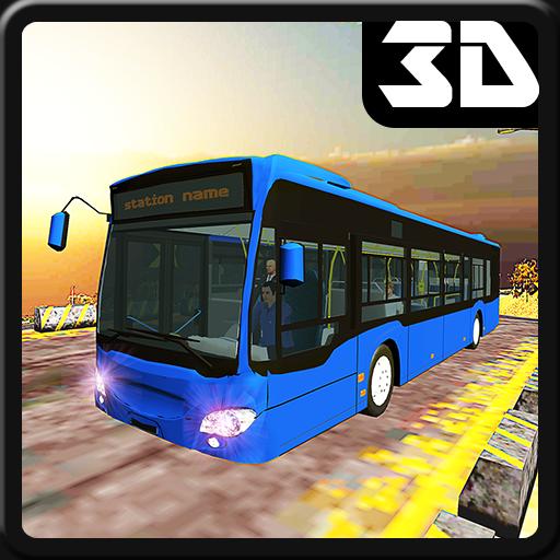 Offroad Megabus Driver & Hillside Bus Simulator 3D