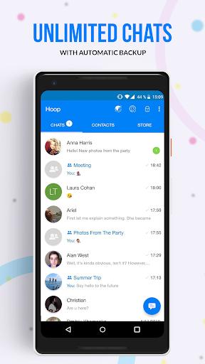 Hoop Messenger 2.23.2129 screenshots 2