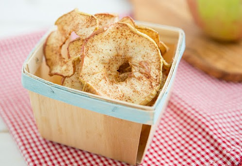 Soft and Chewy Spiced Apple Rings