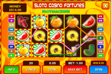 Sloto Casino Fortunes – Free Casino Fruit Machine - náhled