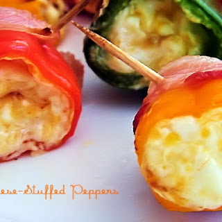 Cheese-Stuffed Peppers.