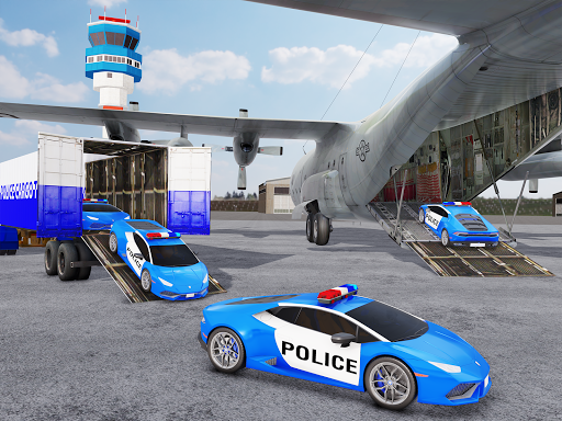 US Police Transporter Plane Simulator 2.1 screenshots 8