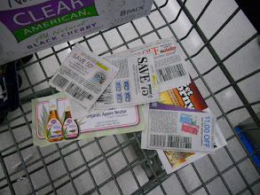 Photo: coupons are key to most of my shopping trips