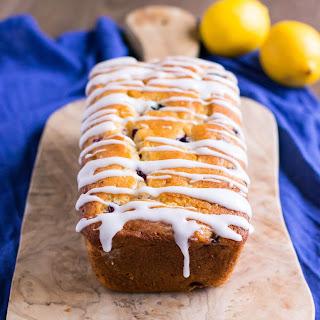 Zesty Lemon Blueberry Loaf