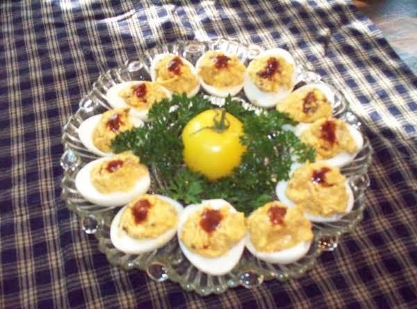 Smoky Chipotle Deviled Eggs Recipe