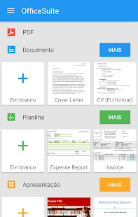 OfficeSuite Pro + PDF (Trial): miniatura da captura de tela
