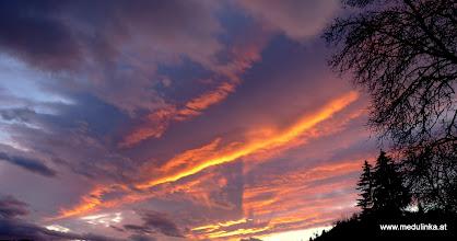 Photo: der himmel brennt...
