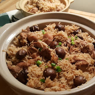 Pressure Cooker One Pot Chicken and Rice.