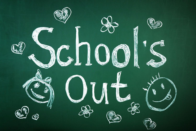 De laatste schooldag