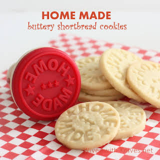 Buttery Short Bread Cookies ~ HOME MADE.