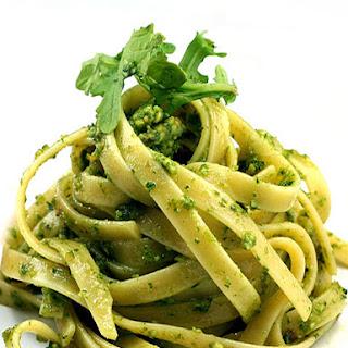 Broccoli Kale Arugula Pesto Fettuccine