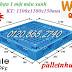 Pallet nhựa 1100x1100x150mm giá siêu rẻ call 01208652740