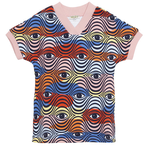 Primary image of Kenzo Kids Eye Logo Dress