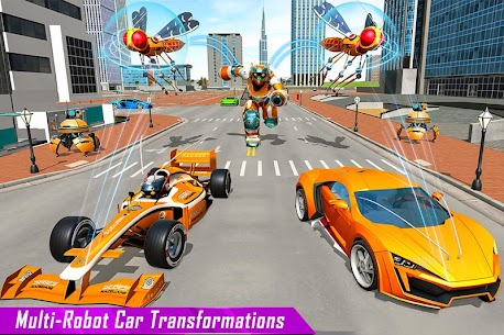 Mosquito Robot Car Game – Transforming Robot Games 4