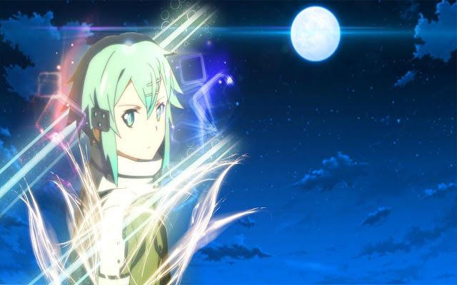 Sword Art Online 2 Sinon Theme