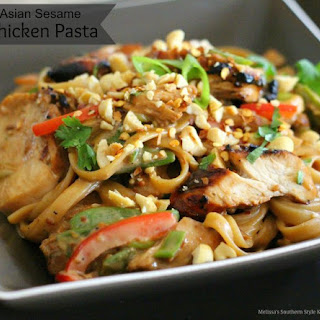Asian Sesame Chicken Pasta Recipe