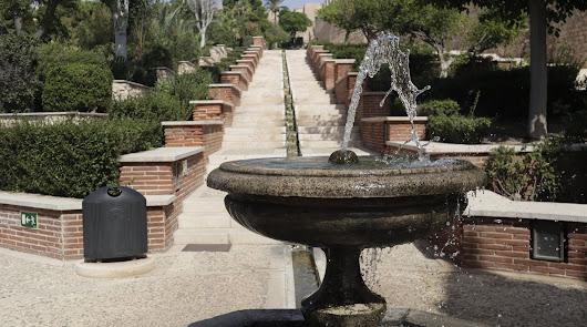 El agua ya suena en La Alcazaba