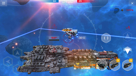 Planet Commander Online: Space ships galaxy game Screenshot
