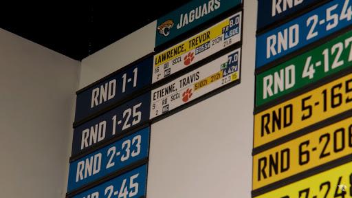 Jaguars accidentally leaked several NFL Draft player grades