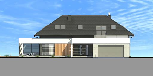 New House 7 - Elewacja przednia